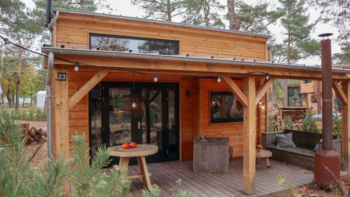 Tiny House voor 4 personen