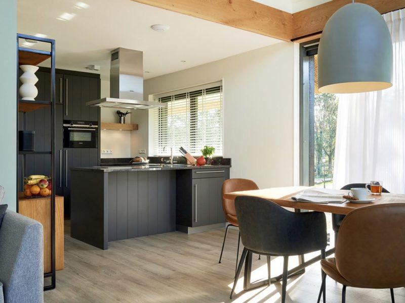 Keuken in vakantiehuis op Landal Puur Exloo