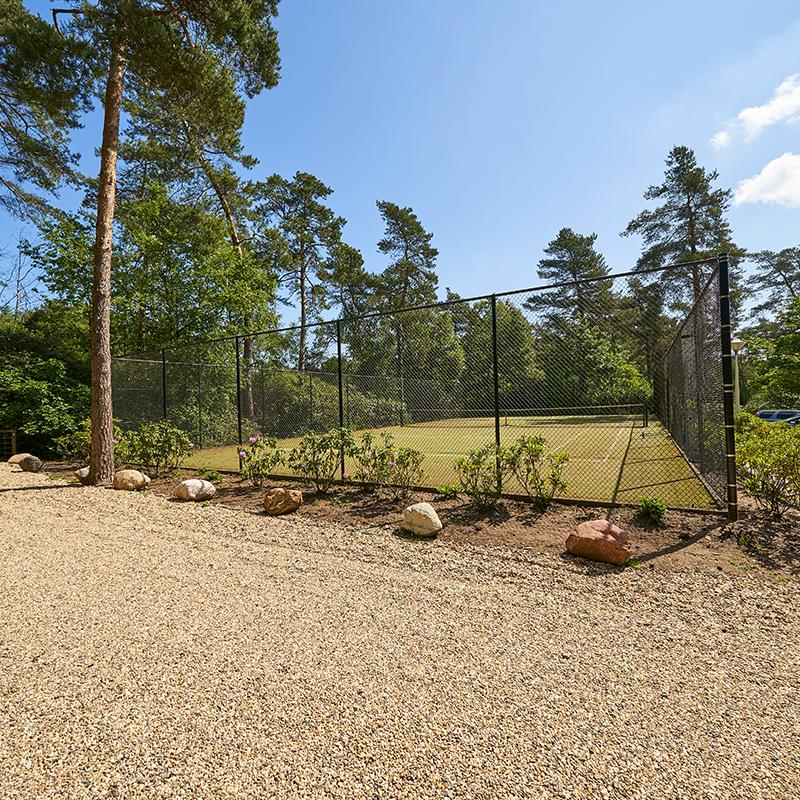 Tennisbaan Vakantiepark Het Liederholt
