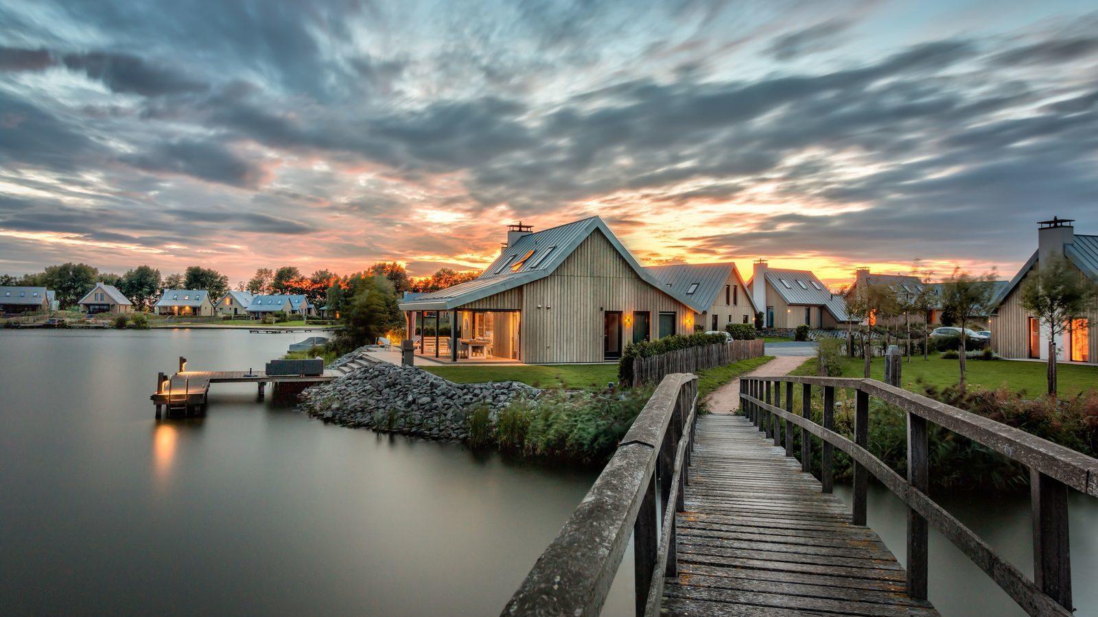 Oesterdam, vakantiepark aan het water